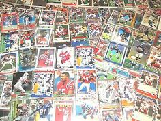 New England Patriots Lifetime Collection of Old and New 540 + Cards Yesterday