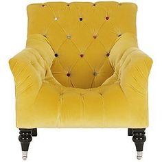 John Lewis Mr Bright Chair, Gold Leaf :: http://www.johnlewis.com/230873161/Product.aspx