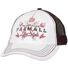 247decfd4bd Ladies Farmall Life Style Floral Hat