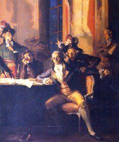 La chute de Robespierre - Robespierre's Fall