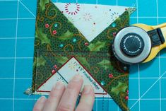 Quilt in a Day Rulers (I have both of these) and Eleanor Burns method of Flying Geese from One Piece at a Time Blog