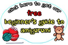Stacey Trock (Fresh Stitches has an awesome beginner's guide to #amigurumi for free. It includes a free pattern for a cute little penguin :)