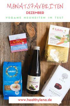 Diese veganen Neuheiten un Produkte kann ich dir empfehlen: meine Monatsfavoriten Dezember.