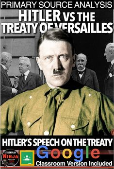 Teaching American History, World History Teaching, World History Lessons, American History Lessons, History Lesson Plans, Social Studies Lesson Plans, Teaching Social Studies, Treaty Of Versailles, German People