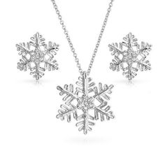 Bling Jewelry 925 Sterling Silver CZ Snowflake Winter Necklace Earrings Set Bling Jewelry, http://www.amazon.co.uk/dp/B00GGY3ODO/ref=cm_sw_r_pi_dp_EQnNsb0JDFAMY