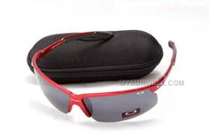 59f54fafdc0 New Oakley Asian Fit Sunglass Red Frame Black Lens For Sale   Cheap Oakleys  Sunglasses