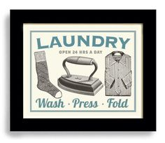 Hey, I found this really awesome Etsy listing at https://www.etsy.com/listing/155232191/laundry-room-decor-wall-art-print