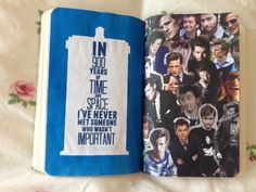 Wreck This Journal. Doctor Who David Tennant, Matt Smith. This Page Is A Sign, What Do You Want It To Say?