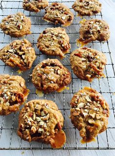 Little pockets of toffee, nuggets of roasted almond and a pinch of sea salt, make these cookies the perfect mix of salty, sweet, crunchy and chewy.