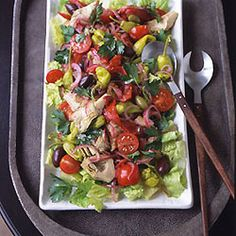 Antipasto Salad - Excellent for both gluten/dairy free and regular diet guests