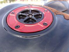 EVOTECH GAS CAP ON Z750 BLACK
