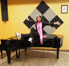 Rosalie Drysdale with her beloved piano in studio. Musical Composition, Inspirational Music, Pop Music, Piano, Studio, Pianos, Studios, Composition, Popular Music