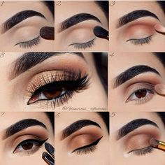 eye makeup easy and simple cut crease: step by step tutorial on how to create this easy makeup look for everyday.