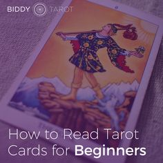 Learning Tarot doesn't have to be hard, complicated or stressful. If you're just starting to learn Tarot, I've got your back. Here are my top tips on how to read Tarot cards for beginners: www.biddytarot.com/how-to-read-tarot-cards-for-beginners