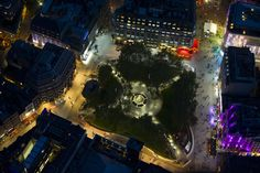 Leicester Square. One of my favourite places in London. 3 minutes away from my house :D