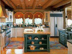 Beautiful country kitchen...