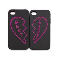 BFF iPhone Cases! These are great, Maggie!