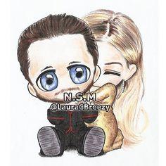 Jared Leto & Margot Robbie #Oscars2016