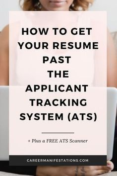 Unless your resume is Applicant Tracking System (ATS) friendly, it may never get into the hands of a recruiter. Learn how to make your resume ATS friendly and through automated systems, Professional Resume Examples, Basic Resume, Cv Examples, Good Resume Examples, Visual Resume, Simple Resume, Modern Resume, Unique Resume, Professional Development