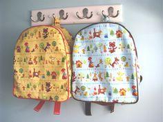 Toddler Backpack Sewing Pattern PDF (Instant Download)