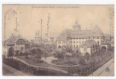Leipzig - Lindenau, Diaconissen - Haus 1906 Painting, Leipzig, House, Human Settlement, Architecture, Painting Art, Paintings, Painted Canvas, Drawings