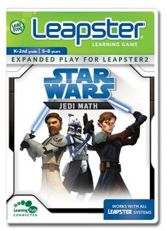 LeapFrog Leapster Learning Game Star Wars – Jedi Math « Game Searches