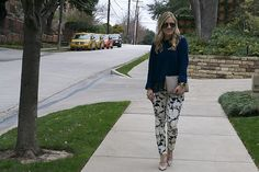 Printed Pants- Need to get these 7 Jeans