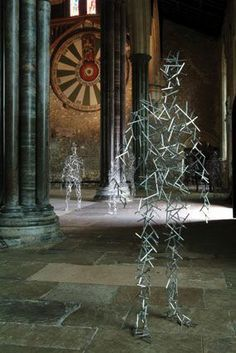 Antony Gormley The Great Hall Round Table Winchester