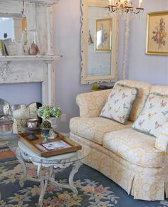 Savvy Southern Style: My Favorite Room......Chateau Chic - mirrors!