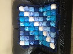 Bubble quilt. Direction on how to make on awaitingada.com