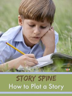 such a great idea! How to plot a story with story spine exercise - from #kidlit author, Deborah Underwood