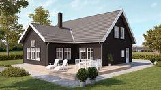 Movehome erbjuder smarta arkitektritade 1,5-planshus där flera kan byggas med oinredd vind för att senare inredas när familjen växer.