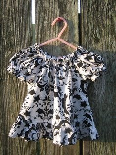 Little Girl's Peasant Shirt 1218month by vintagetwilight on Etsy