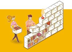 What are BrickBox modules? | Brickbox - shelves, modular libraries
