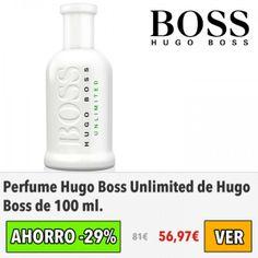 Perfume Hugo Boss Unlimited de Hugo Boss. #ofertas #descuentos