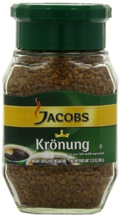 Jacob's Coffee Jacobs Kronung Instant, 3.52-Ounce (Pack of 3) Jacob's Coffee http://www.amazon.com/dp/B00469TSNG/ref=cm_sw_r_pi_dp_jhfYtb05CT9HXZ1X