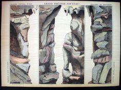 Pellerin Imagerie D'Epinal-Grand Theatre Nouveau No 1647 Underground Inv1761