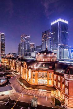 Tokyo Station, Japan.