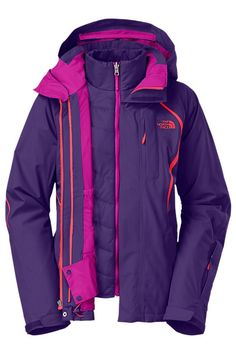 This fully loaded, three-in-one snowsports jacket will keep you protected on the mountain from the dead of winter through spring skiing.