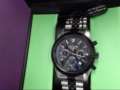 sweet watch | gent's CROTON CC-311326TTBK | 98% New in Box | perfect present | only $129.99 | buyaBling