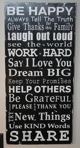 Great family rules for our new home!