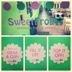 Grab a cup, Fill it up, Top it off!!     #Sweetfrog