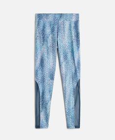 Water print leggings - OYSHO Water Printing, Print Leggings, Gym Wear,  Active Wear