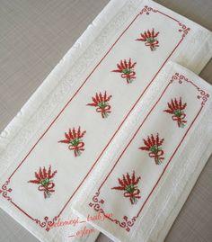 Hand Embroidery Design Patterns, Baby Knitting Patterns, Christmas Crafts, Cross Stitch, Bath Linens, Cross Stitch Embroidery, Diy Creative Ideas, Creativity, Craft