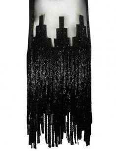 Gabrielle Chanel 1920's beaded flapper dress sold