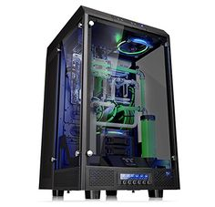 awesome Thermaltake TOWER 900 E-ATX Full Tower Super Gaming Computer Case, Black CA-1H1-00F1WN-00