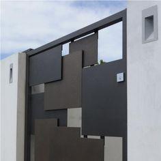 Axolotl, Empty Spaces, Natural Materials, Graphite, Gates, Layering, Architecture Design, Garage Doors, Bronze
