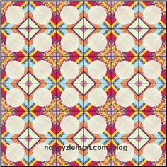 Quilt Extravaganza: Block of the Month 1   Craftsy Free PDF