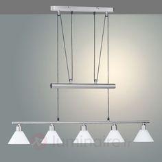 Suspension à hauteur réglable à plusieurs lampes 9003734X