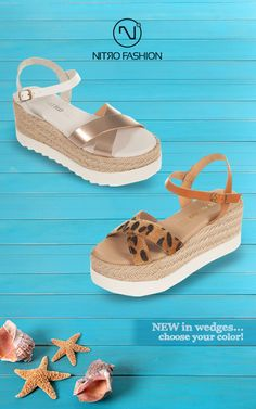 New in wedges.choose your color!